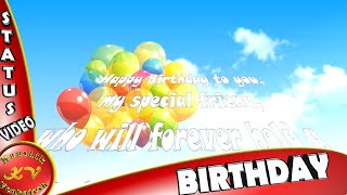 Birthday Wishes for Best Friend,Images,Greetings,Animation,Whatsapp Video,Happy Birthday Quotes