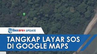 VIRAL Tanda SOS di Pulau Laki Dekat Jatuhnya Sriwijaya Air SJ 182, Ini Kata Basarnas dan Polisi