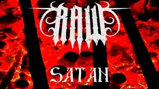 Video RAW - SATAN feat. Andrey Babushkin (OFFICIAL LYRIC VIDEO)