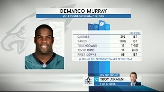 Troy Aikman on Dallas Cowboys Not Signing DeMarco Murray on The RE show - 3/18/15