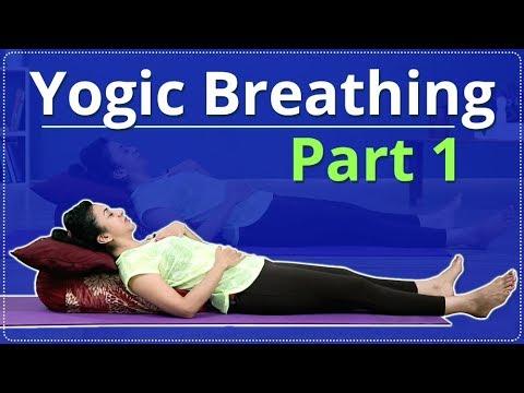 How To Do YOGIC BREATHING | SHAVASANA | Simple Yoga Lessons