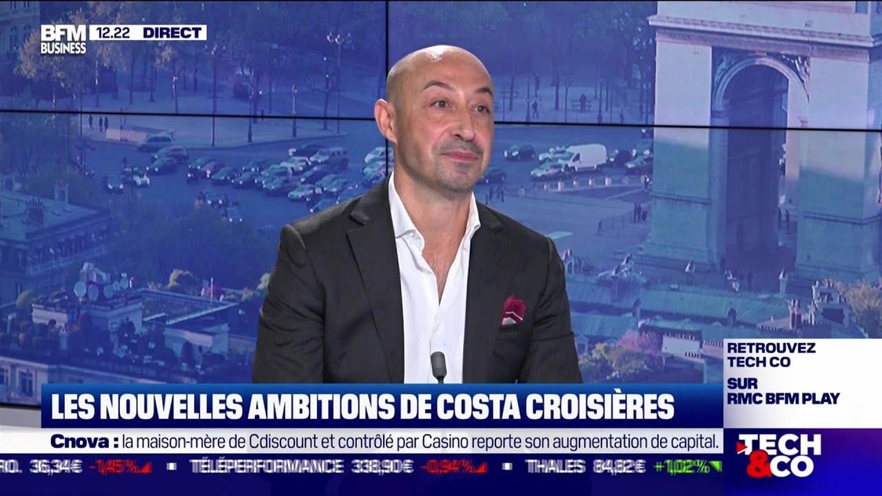 Raffaele d'Ambrosio (Costa Croisières) : Les nouvelles ambitions de Costa Croisières