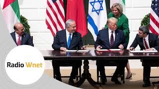 Umowa USA-Izrael-ZEA-Bahrajn. Lasota: Bardziej wygląda to na przykrycie podwójnych afer wyborczych
