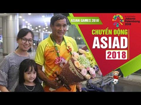 ĐT Nữ Việt Nam về nước sau khi dừng chân tại ASIAD 2018