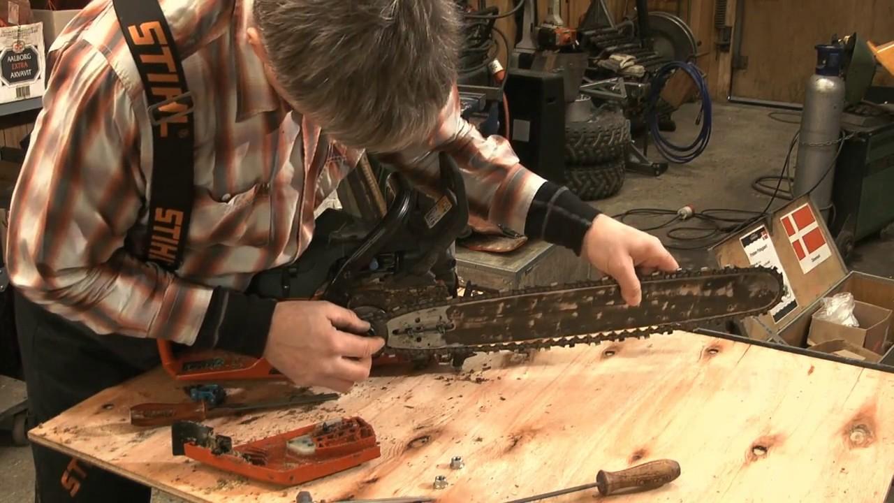 Skovhuggertips til din motorsav - med skovløber Preben Palsgaard