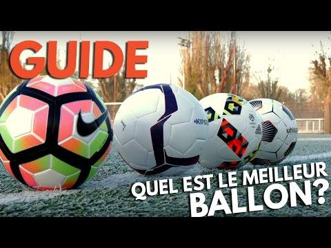 Quel est le meilleur ballon de foot ?