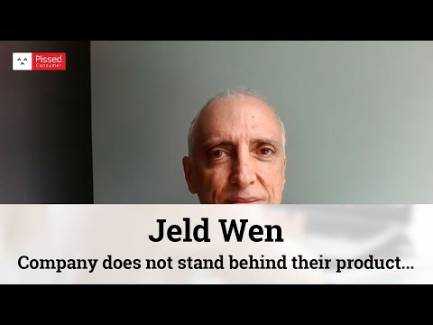 Jeld Wen - Company does not stand behind their product. Warranty is a joke