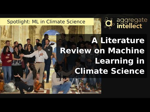 A Literature Review on Machine Learning in Climate Science