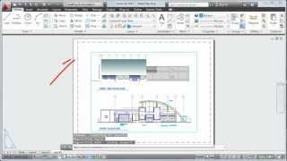 AutoCAD 2013 Tutorial: How To Plot a Drawing Layout