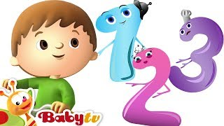 One, Two Buckle My Shoe - Count With Charlie & The Numbers | BabyTV