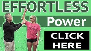 How to Increase Effortless Power & Speed in Volleyball Arm Swing