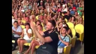 Сергей Лазарев на концерте Ани Лорак. Анапа 08.08.16