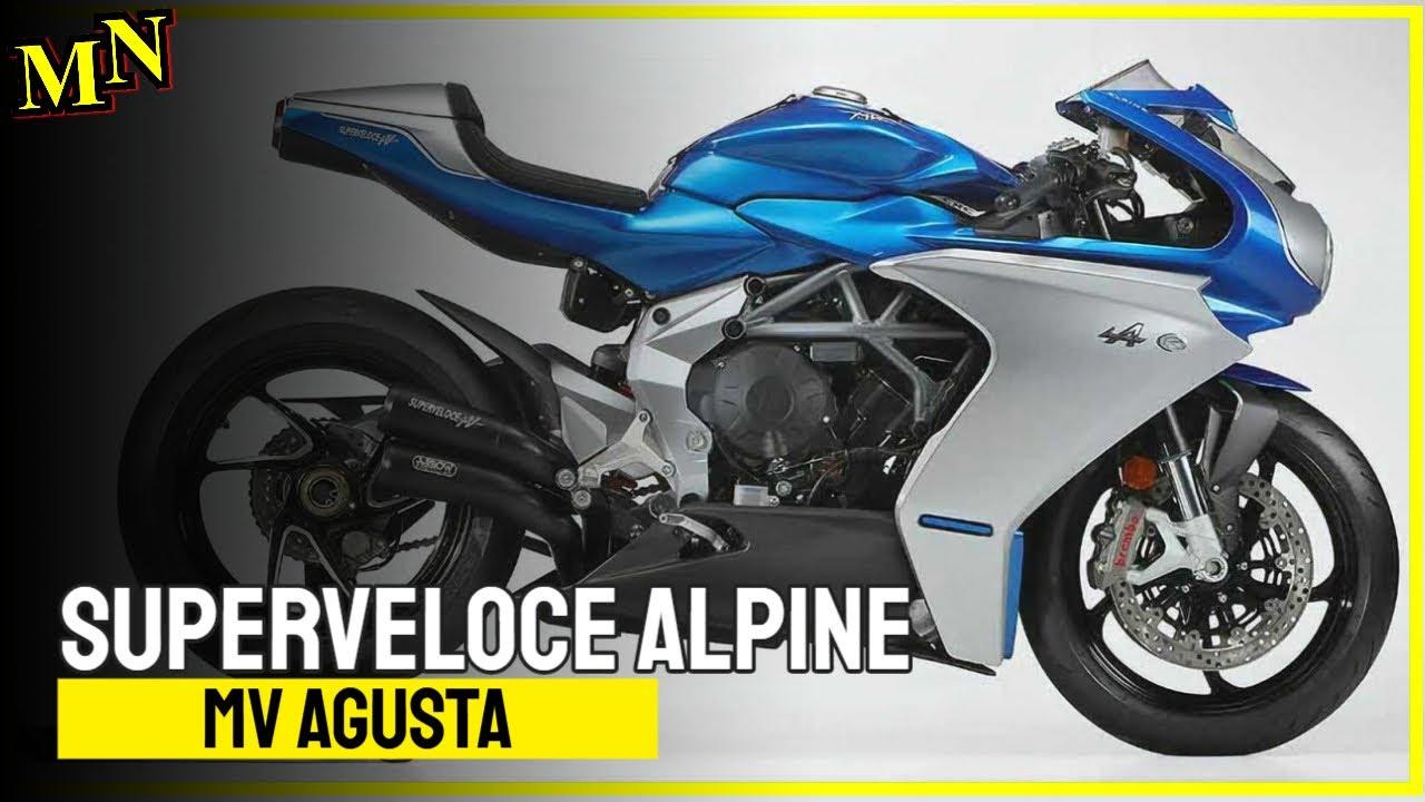MV Agusta Superveloce Alpine presented