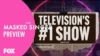 Preview: TV's Number One Show Is Coming Back | Season 4 | THE MASKED SINGER