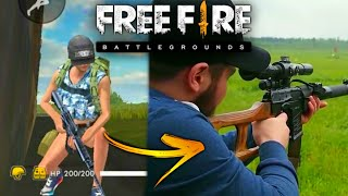 •ARMAS DO FREE FIRE NA VIDA REAL! (Erros por conta do site :/)