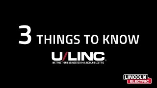 3 Things to Know About U/LINC