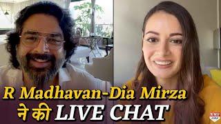 Lockdown में  R Madhavan -  Dia Mirza ने की LIVE CHAT | Rehnaa Hai Terre Dil Mein  Reunion