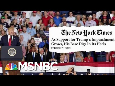 The One Group Not Leaving The President's Side Anytime Soon   Velshi & Ruhle   MSNBC