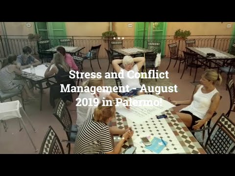 Stress and Conflict Management - August 2019 - YouTube