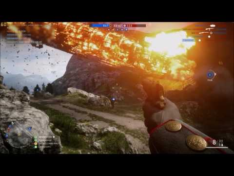 battlefield 1 how to fly airship