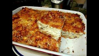 מתכון לפשטידת פטריות ,בצל מטוגן וגבינות על בסיס בורקס גבינה