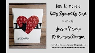 Clean & Simple Kitty Sympathy Card