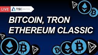 Пятая волна на подходе! BITCOIN падает! Прогноз на Биткоин | Обзор Tron(TRX), Ethereum Classic(ETC)