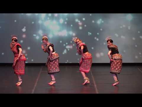 Download Sambalpuri Indian folk dance by Russian girls in Macedonia HD Mp4 3GP Video and MP3