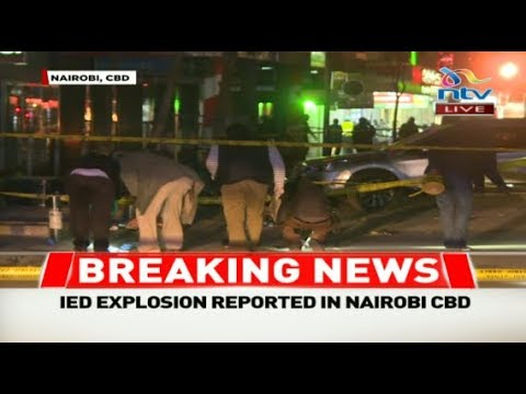 Explosion reported in Nairobi's Central Business District