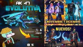 🔥 Nueva Ak47 Evolutiva *llega Muy Fuerte*   Pase Elite Noviembre Y Diciembre  !