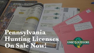 Kinsey's Outdoors - PA Hunting Licenses On Sale Now!
