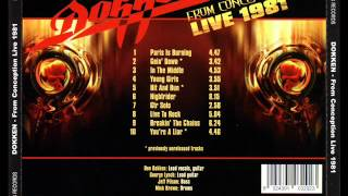 Dokken - Hit And Run (Unreleased Track) 1981