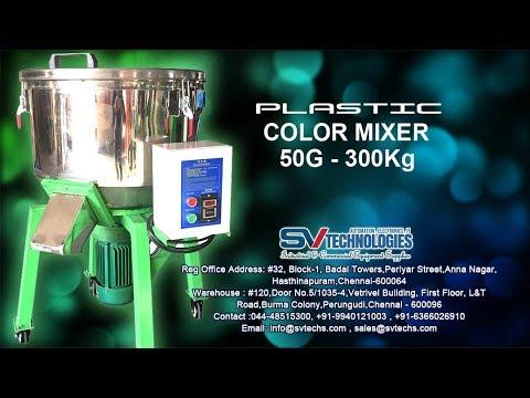 HYNAAR Plastic Granules Color Mixing Machine 50 kg - 300 kg