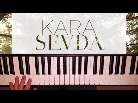 Мелодия из сериала «Чёрная любовь» на пианино