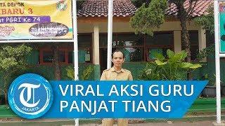 Viral Guru Panjat Tiang Bendera yang Talinya Putus saat Upacara Merasa Kasihan Para Murid Kepanasan