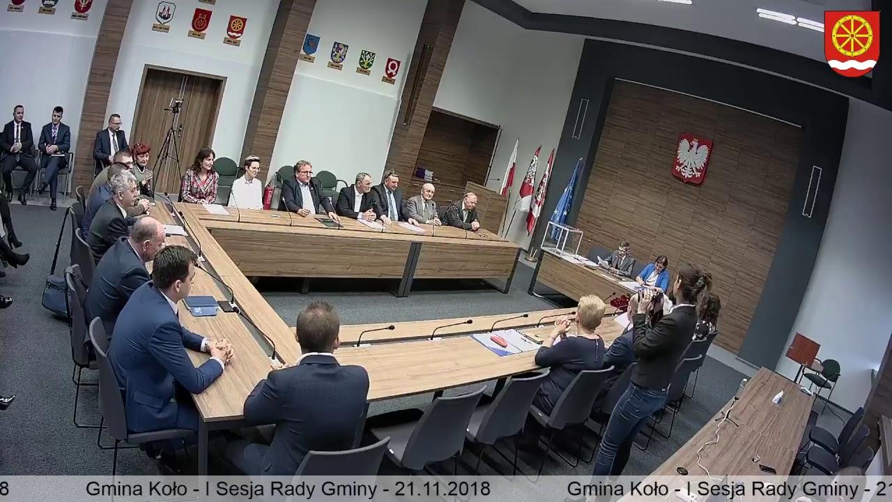 Zdjęcie do I Sesja Rady Gminy Koło