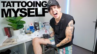 TATTOOING MYSELF AT HOME