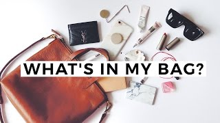 Whats In My Bag - Madewell Mini Transport Tote