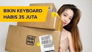 UNBOXING KEYBOARD 22JT | #RAMAWORKS U80-A
