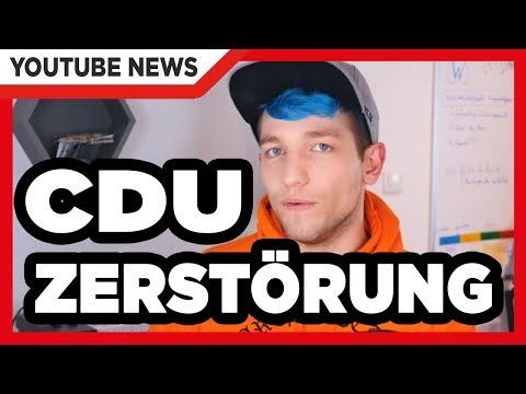 Rezo zerstört die CDU und SPD gleich mit (видео)