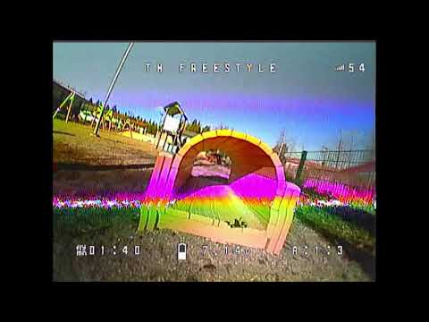 A bit rusty, going thru small tunnel fails #2  - Emax Tinyhawk Freestyle (2020 #28)