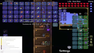 Terraria Live 2 And A Half Hour Stream And Wall Of Flesh Maybe