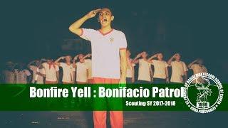 SFAMSC Bonfire Yell 2017 2018 Bonifacio Patrol