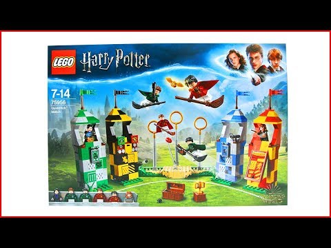 LEGO HARRY POTTER 75956 Quidditch Match Construction Toy - UNBOXING