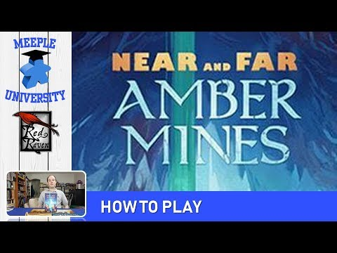 Near and Far: Amber Mines Board Game – How to Play & Setup