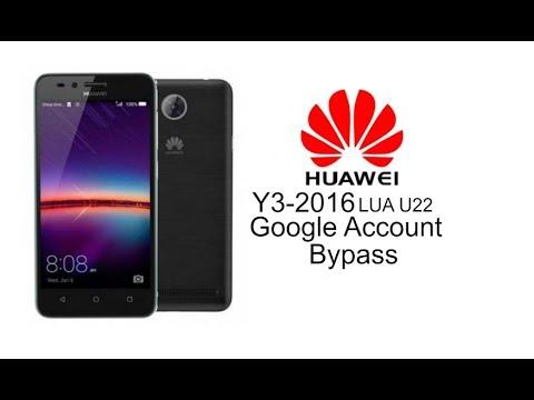 huawei lua u22 y3ii google account bypass 2018 - смотреть