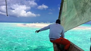 preview picture of video 'Paradise island - a sandbank in the Indian Ocean, Tanzania'