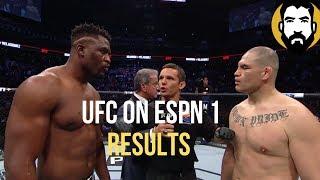 UFC on ESPN 1 Results: Cain Velasquez vs. Francis Ngannou   Post-Fight Special   Luke Thomas