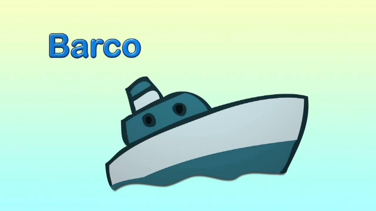 Cómo se dice barco en inglés.