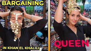 Khan El Khalili Bazaar | A Day In Cairo Vlog | MAISVAULT